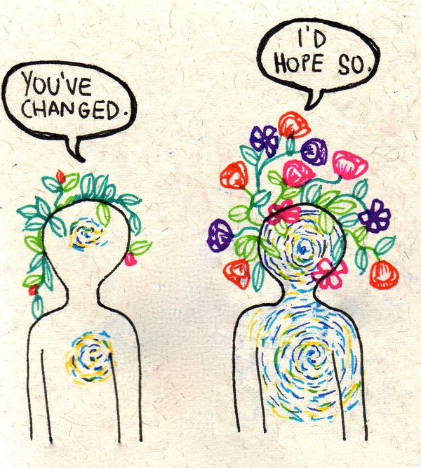 youve changed