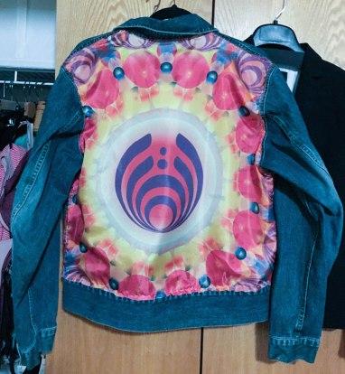 Back of jacket