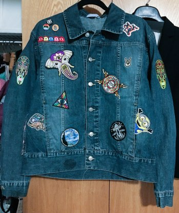 front of jacket